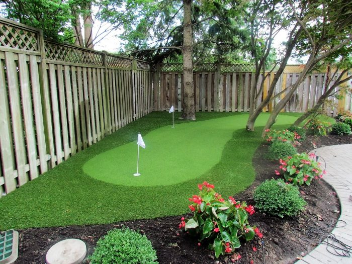 Create Backyard Golf Hole to Practice