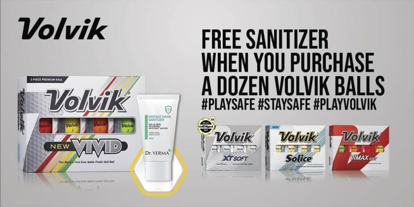 Volvik Begins Hand Sanitizer Promotion
