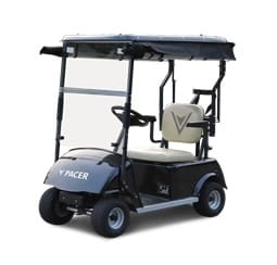 The PACER Single Rider Golf Cart in the Midst of Social Distancing